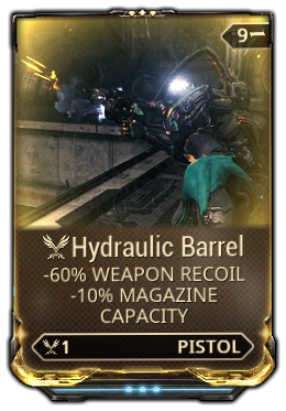 Hydraulic Barrel